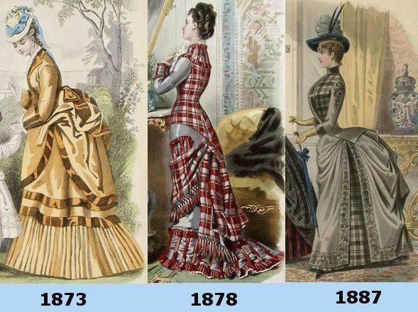 The Bustle Dress – A Brief Overview, Part 1