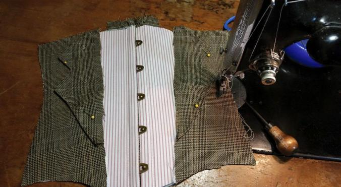 New corset under construction....