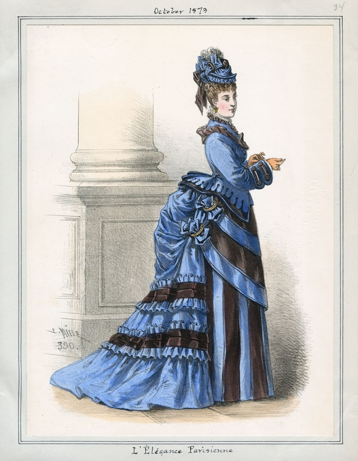 the bustle dress � a brief overview part 1 lily absinthe