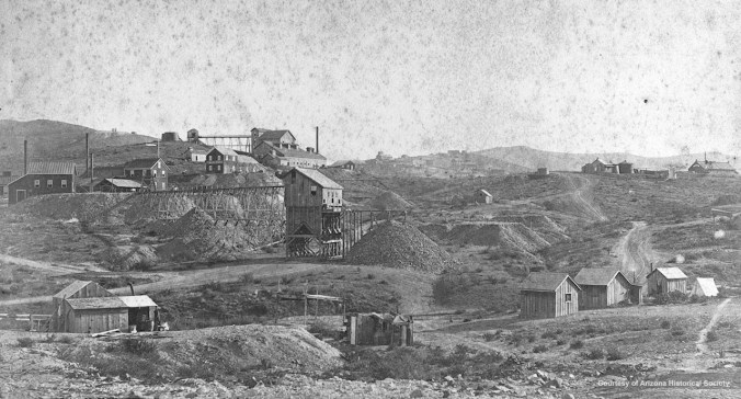 Mining Activity in Tombstone
