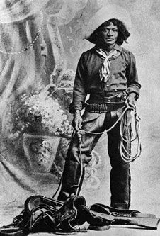 Nat Love (aka Deadwood Dick) - One of many African-American Cowboys that were in the West.