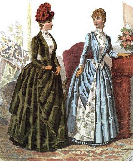 Fashion Plate, c. 1886