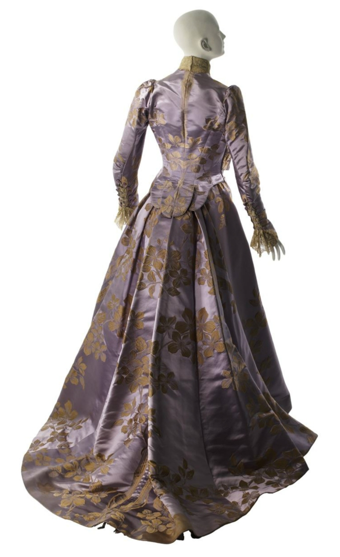 Worth Afternoon Dress 1896