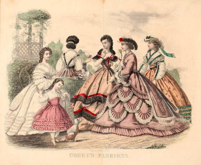 Godey's Ladies Book, 1863