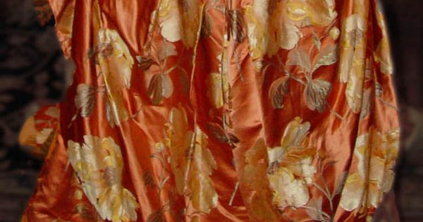 Closeup of the fashion fabric.