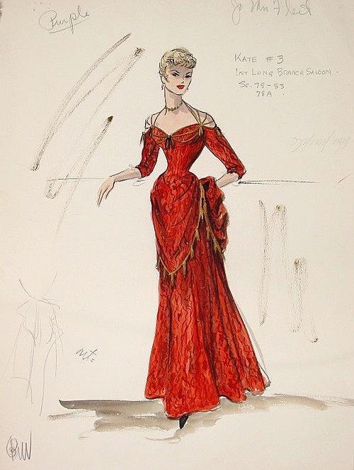 Edith Head_Costume Sketch_Gunfight_Jo Van Fleet3