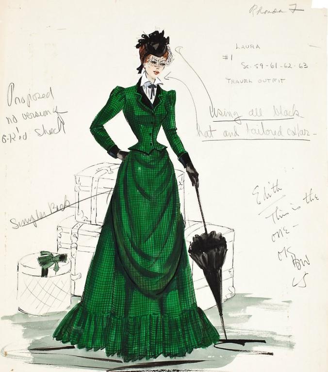 Rhonda Fleming_Green Dress1