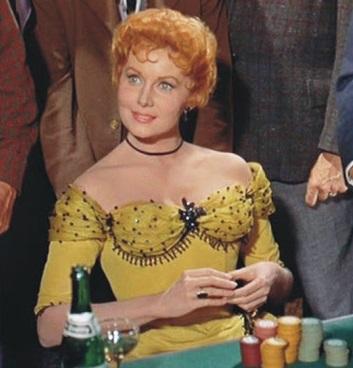Rhonda Fleming_Yellow Dress1