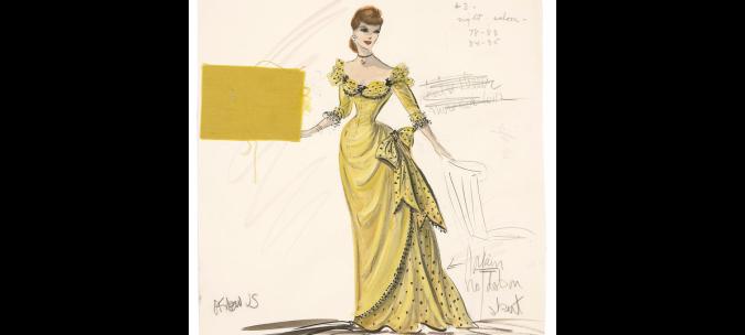 Rhonda Fleming_Yellow Dress3