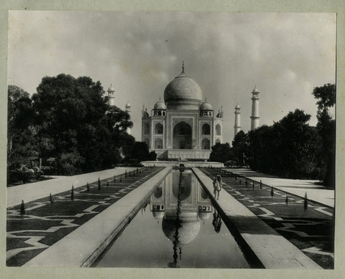 c.1890's PHOTO INDIA TAJ MAHAL AGRA