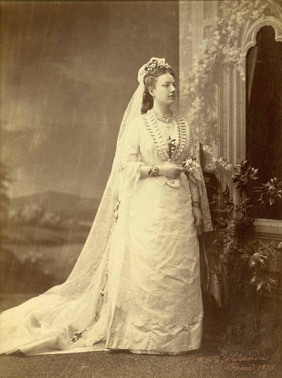 A brief look at wedding dresses of the 1870s lily absinthe for 1800 style wedding dresses