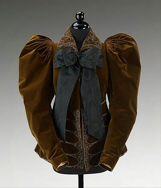 Afternoon Jacket Worth 1895
