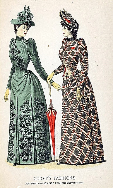 1890s Style- Day Wear, Part 1