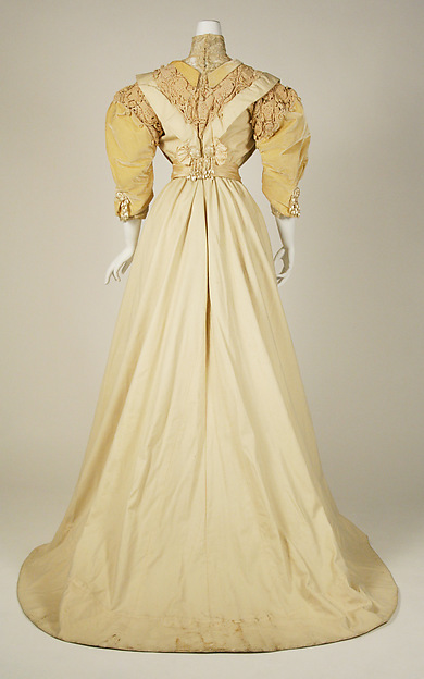 Paquin Day Dress - Rear
