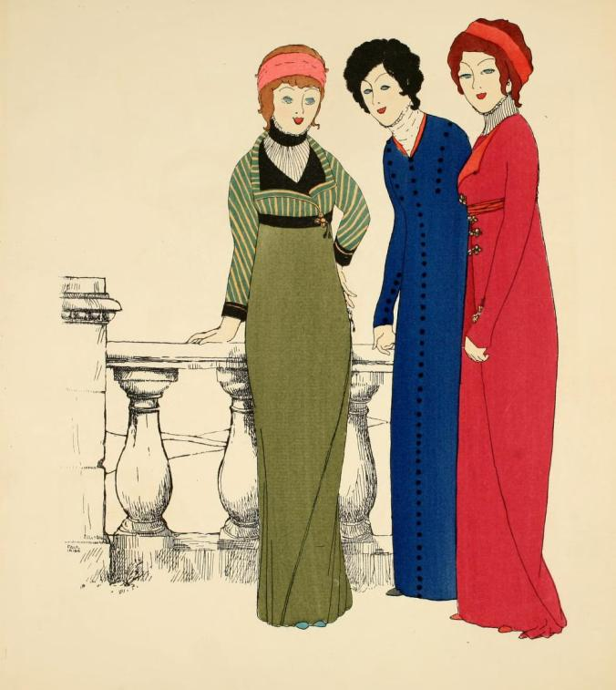 Robes of Paul Poiret 1908