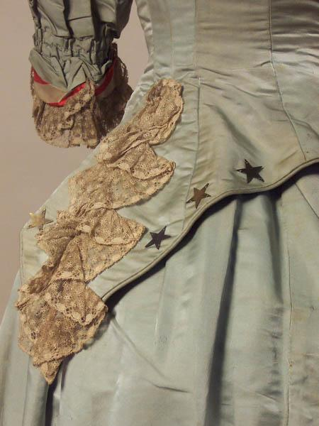 Reception Dress 1880 - 1882 - Detail