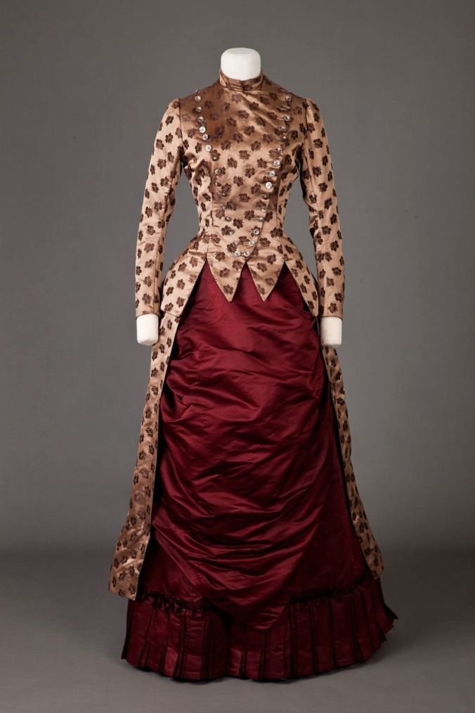 Day Dress 1885-86 1