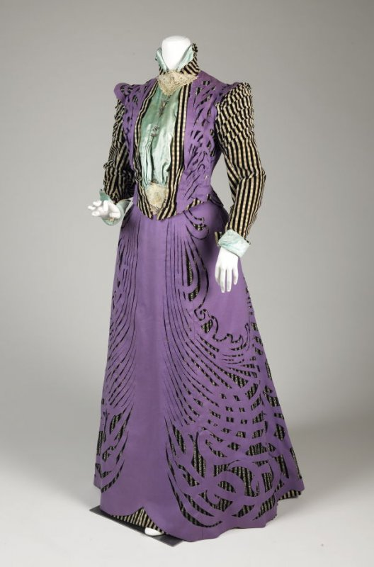 Emile Pingat Afternoon Dress 1896