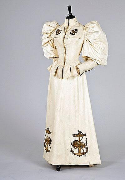 Yachting Dress c. 1895