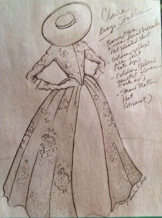 Outlander Costume Sketch1