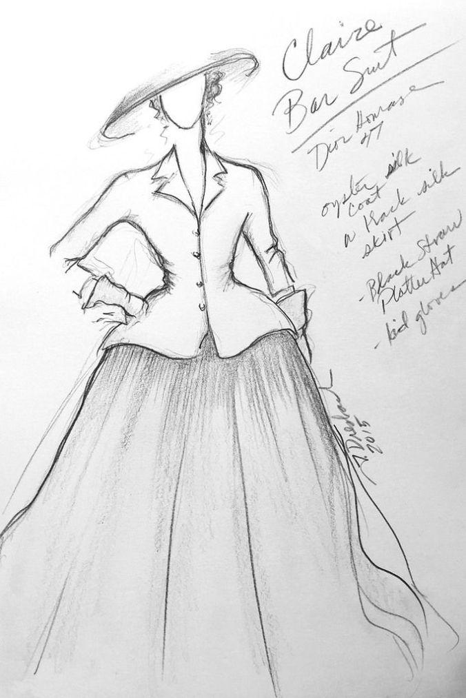 Outlander Costume Sketch2