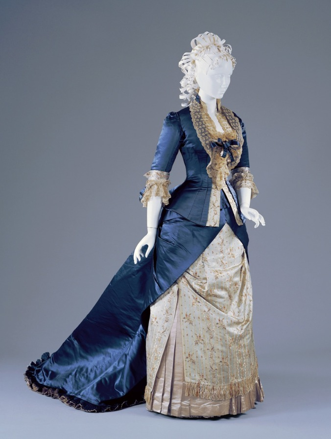 Worth Reception Dress 1877