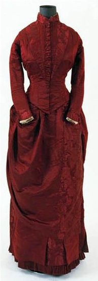 Day Dress, European or American, ca. 1885