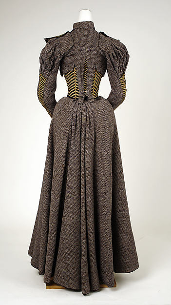 1893 Walking Dress