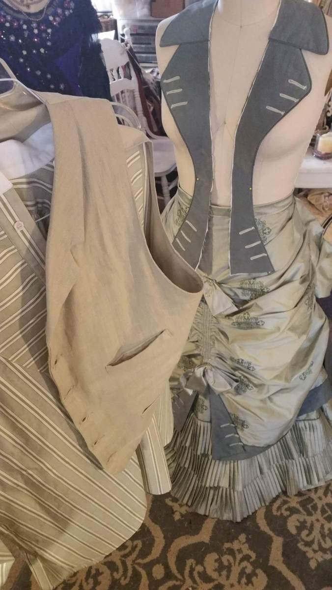 1880 Day Dress Strathern Ranch