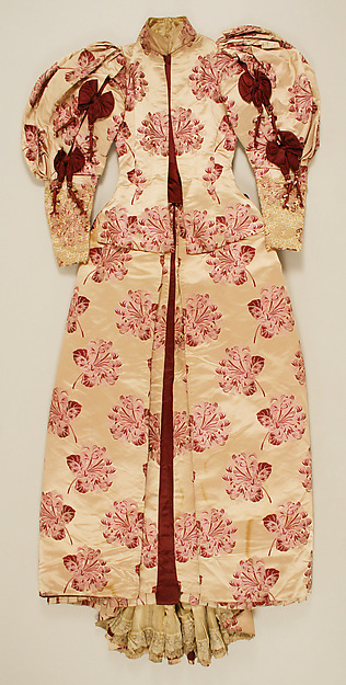 Worth, Reception/Day Dress, c. 1895; Metropolitan Museum of Art (2006.558.1a–c)