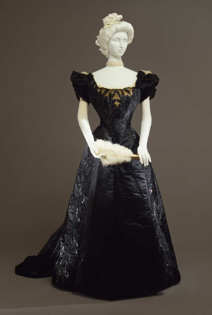 Worth Evening Gown c. 1897-99