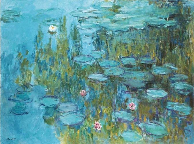 Monet Water Lilies 1915