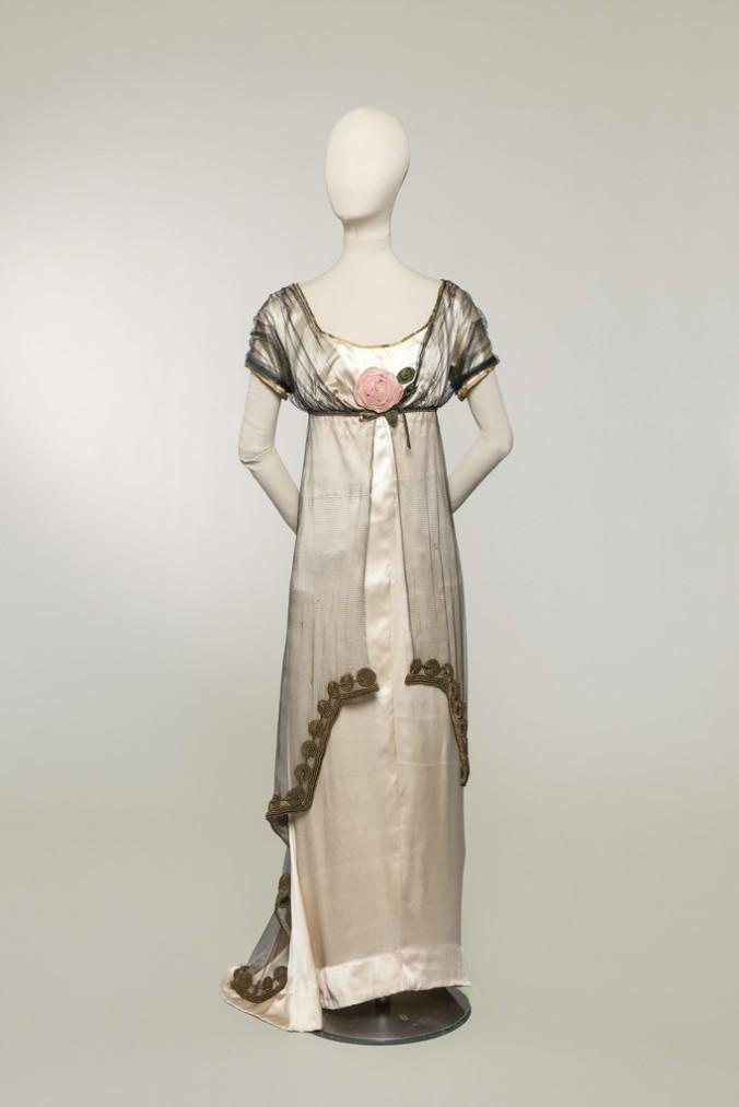 Noveau Directoire 1908 Poiret Josephine Dress