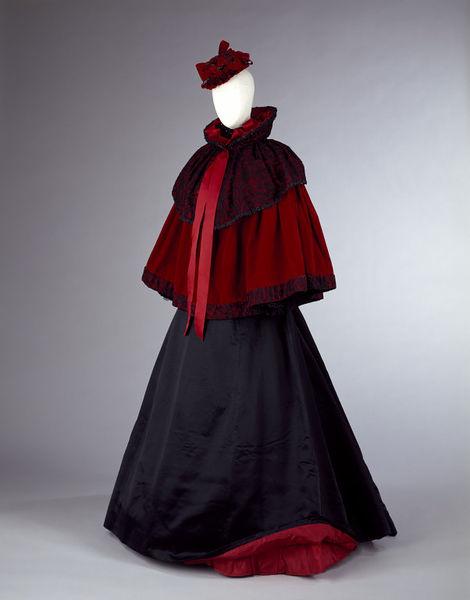 Cape Jacket c. 1893 - 1895