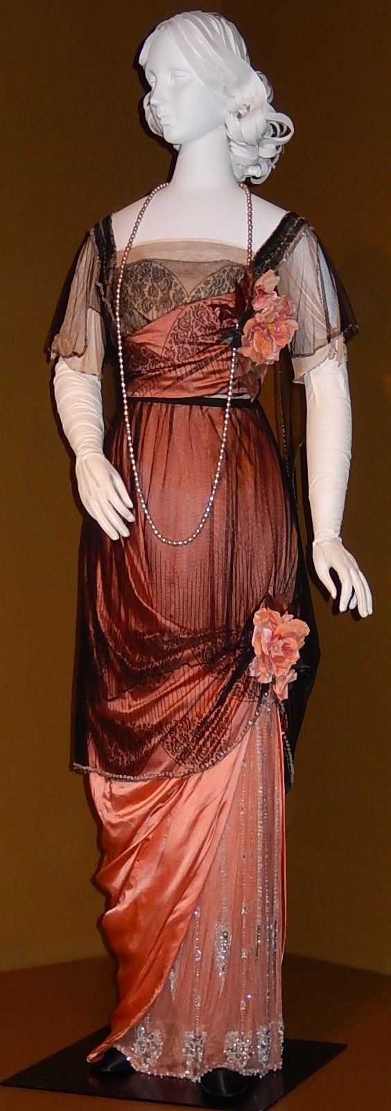 Evening Dress Jeanne Paquin 1912