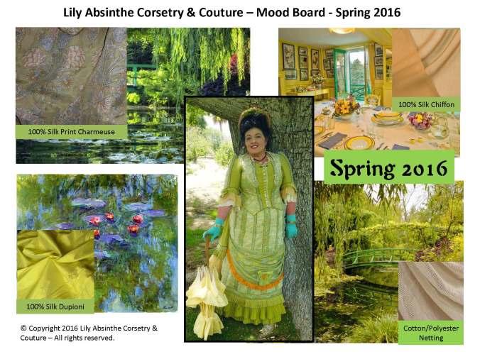 Karin Camille Mood Board Spring 2016
