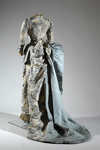 Worth Evening Reception Dress 1883