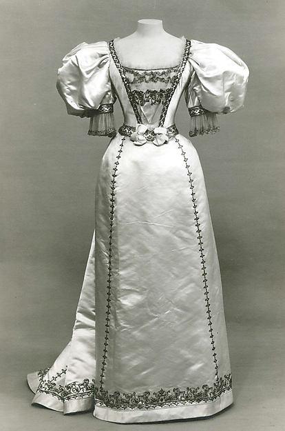 Evening Dress Worth c. 1895 - 1896