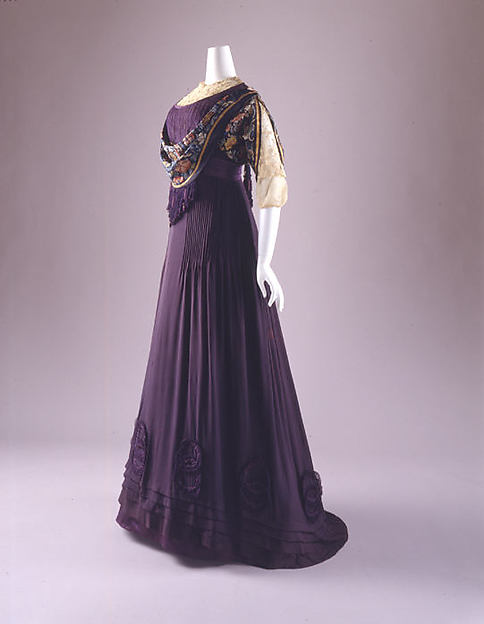 Margaine-Lacroix c. 1908 - 1910  Evening Dress