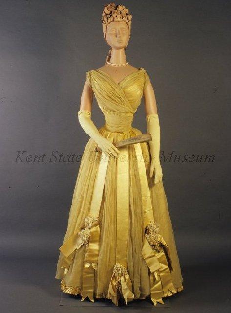 Evening Dress c. 1892