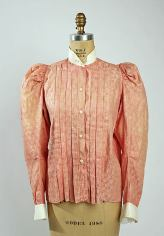 Shirt Waist, Cotton c. 1896 - 1898; Metropolitan Museum of Art (C.I.59.32.4)