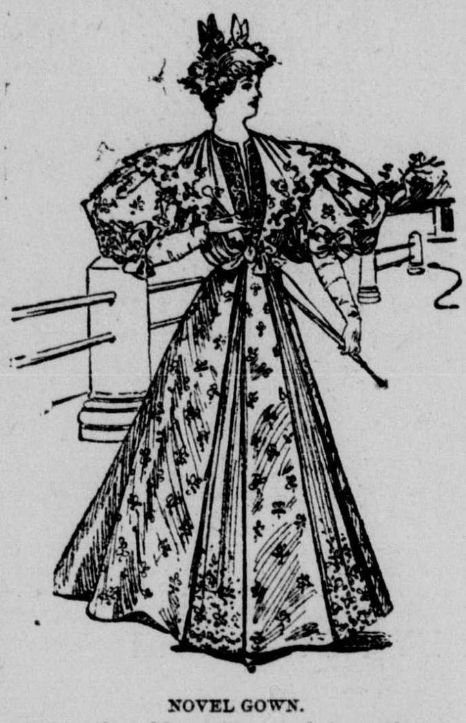 Sleeves and Skirt_April 1895 Los Angeles Herald
