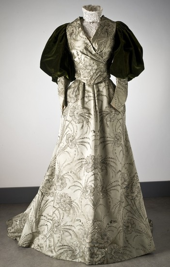 Evening Dress c. 1895