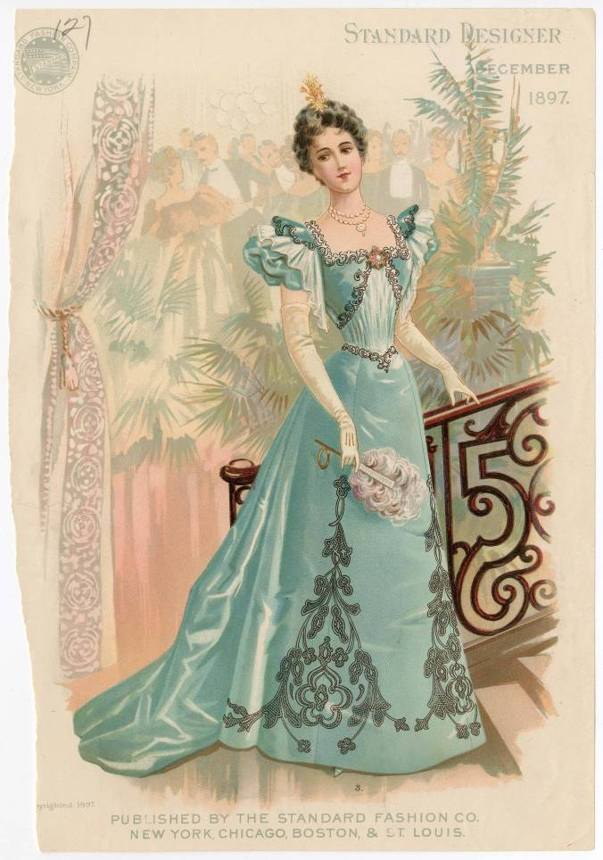 1890s Style- Evening Wear, Part 4 | Lily Absinthe
