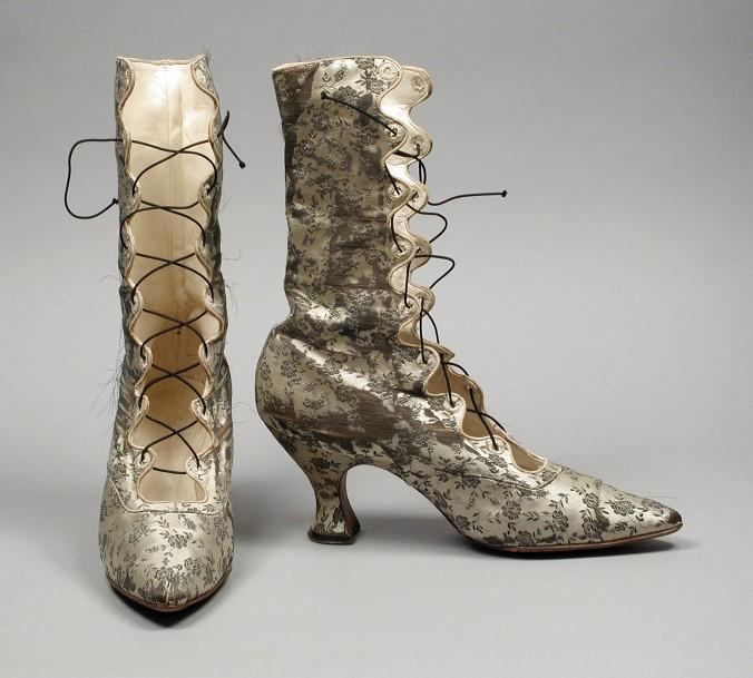 Footwear Boots c. 1889