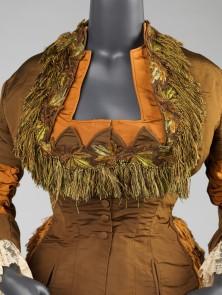 Worth Day Dress c. 1874