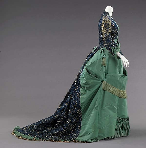 Day Dress Worth c. 1875