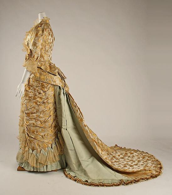 Worth Dinner Dress c. 1877
