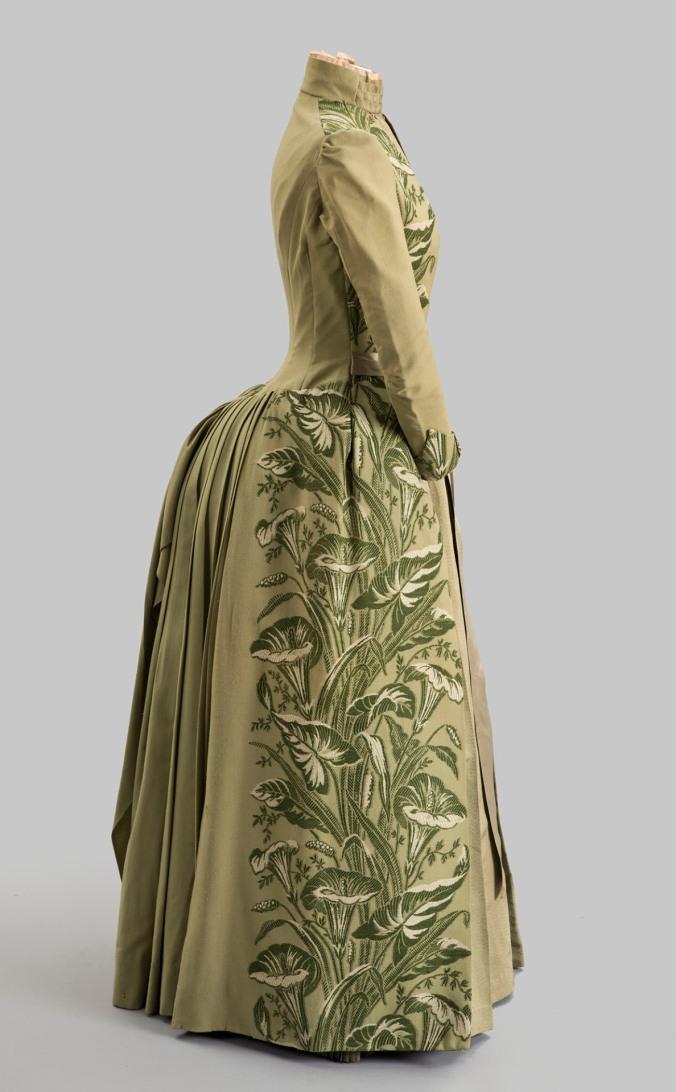 Day Dress c. 1889 Felix