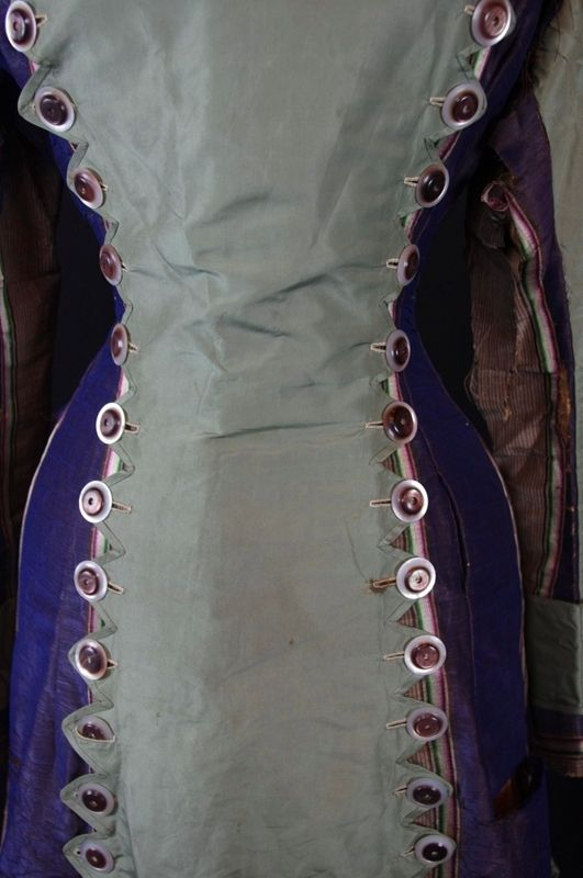 Princess Line Day Dress c. 1878